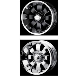 Mazzi Wheels Mazzi Style 755 (Hulk) Black Or Chrome Wheel
