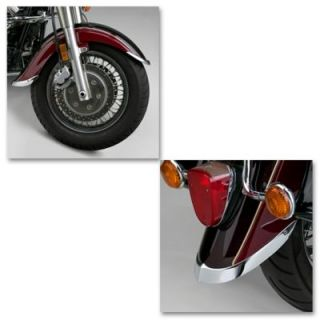 1998 2004 Suzuki   Motorcycle VL1500 Intruder Fender Tip   National Cycle, Direct fit, Chrome, Front Or Rear