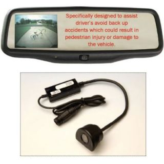 Rostra Custom Pre Wired Rearview Mirror Back Up Camera Kit W/ Mirror And Camera