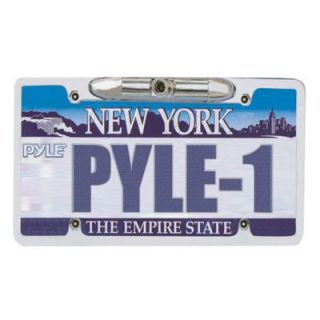 Pyle License Plate Camera Zinc Metal Chrome W/ 0.3 Lux At F2