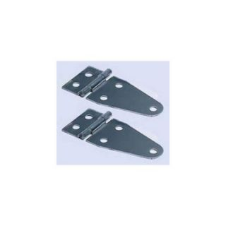 1997 2006 Jeep Wrangler (TJ) Windshield Hinges   Rugged Ridge, Direct fit, Black Powdercoated, Steel