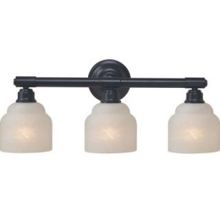 Royce Carlton 3 Light Bathroom Light Bar   23W in.   Bathroom Lighting