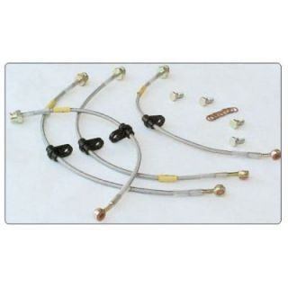 GOODRIDGE BRAIDED STAINLESS STEEL BRAKE LINE KITS   FOR CARS