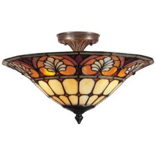Dale Tiffany Dylan Flush Mount Light   Tiffany Ceiling Lighting