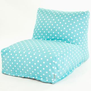Majestic Home Goods Small Polka Dot Small Bean Bag Chair Lounger   Bean Bags