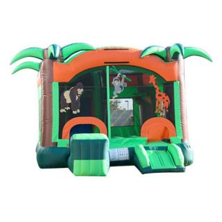 EZ Inflatables Safari Combo Bounce House   Commercial Inflatables