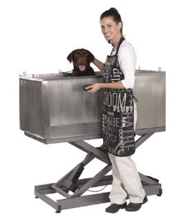 Master Equipment E Lift with Door   Stainless Steel Tub   Dog Tubs