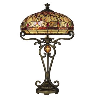 Dale Tiffany Dragonfly Table Lamp   16W in.   Tiffany Table Lamps