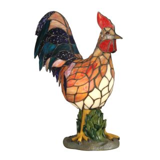 Dale Tiffany Rooster Accent Lamp   Tiffany Table Lamps
