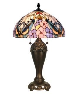 Dale Tiffany Crystal Peony Table Lamp   Tiffany Table Lamps