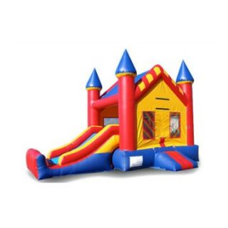 EZ Inflatables Mini Castle Combo Bounce House   Commercial Inflatables