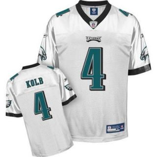 Reebok NFL Equipment Philadelphia Eagles #98 Mike Patterson White Replica Football Jersey