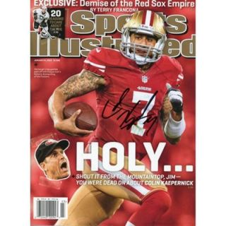 Colin Kaepernick San Francisco 49ers Autographed Holy Sports Illustrated
