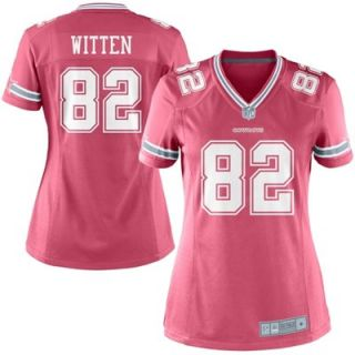 Jason Witten Dallas Cowboys Ladies Game Jersey   Pink
