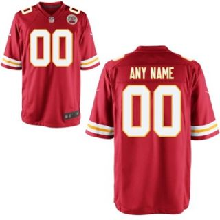 Nike Mens Kansas City Chiefs Customized Team Color Game Jersey