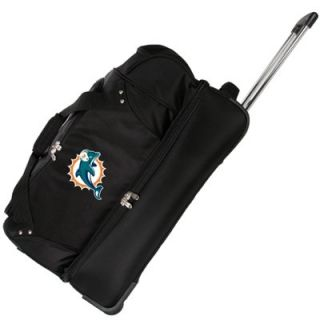 Miami Dolphins 27 Rolling Duffel Bag