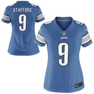 Nike Matthew Stafford Detroit Lions Womens Limited Jersey   Light Blue