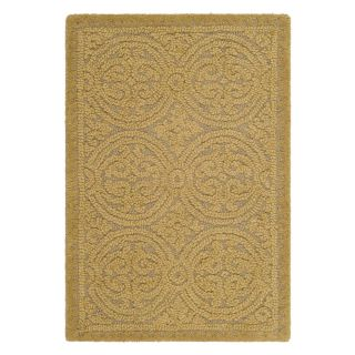 Safavieh Cambridge CAM233A Area Rug   Light Gold/Dark Gold   Area Rugs