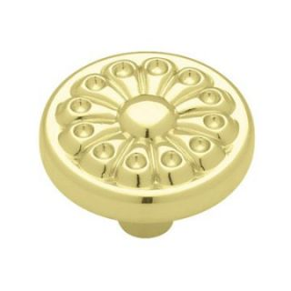 Liberty Hardware Fan Design Round Cabinet Knob   Cabinet Knobs