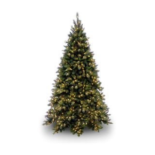 Tiffany Fir Medium Pre Lit Christmas Tree   Artificial Christmas Trees