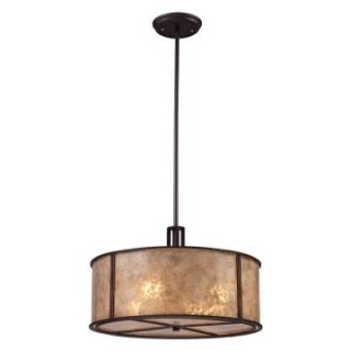 Elk Lighting Barringer Pendant Light   Aged Bronze   Pendant Lighting