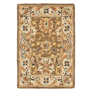 Safavieh Chelsea HK505B Area Rug   Brown/Ivory   Area Rugs