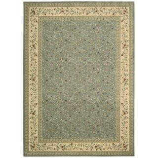 Nourison Ashton House Victoria Area Rug   Light Blue   Area Rugs