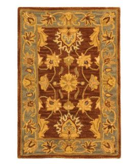 Safavieh Heritage HG343J Area Rug   Brown/Blue   Area Rugs