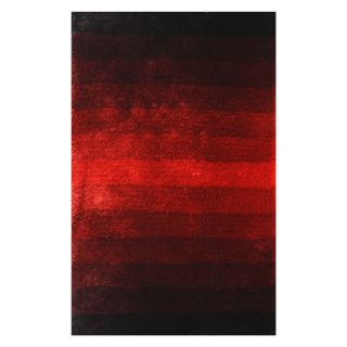 Noble House Jewel Area Rug   Black/Red   Area Rugs