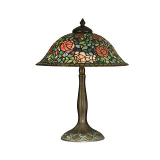 Dale Tiffany Rose Garden Table Lamp   Tiffany Table Lamps