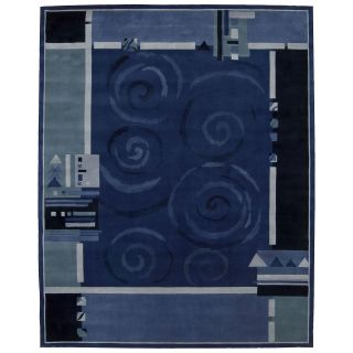 Nourison Dimensions ND16 Area Rug   Blue   Area Rugs