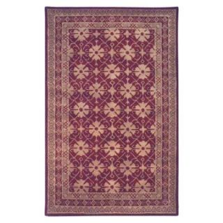 Safavieh Classic CL303B Marisa Area Rug   Red