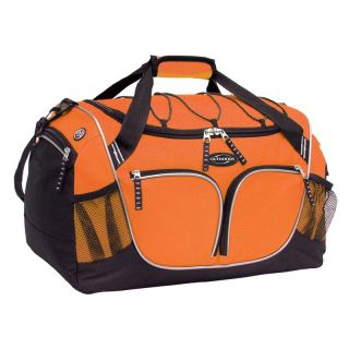 Travelers Club 20 in. Parkour Collection Multi Purpose Duffel Bag   Orange   Sports & Duffel Bags