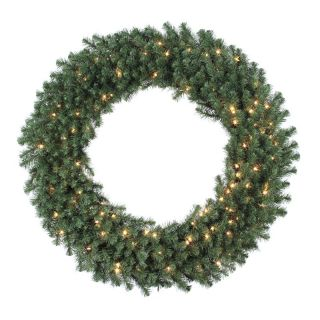 48 in. Douglas Fir Pre lit Christmas Wreath   Christmas Wreaths