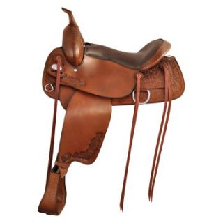 Tex Tan Raleigh Flex Trail Saddle   Western Saddles and Tack