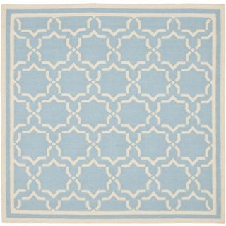 Safavieh Dhurri DHU545B 10 Area Rug   Light Blue / Ivory   Area Rugs