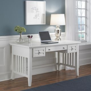 Home Styles Arts & Crafts Executive Desk   White   Computer Desks