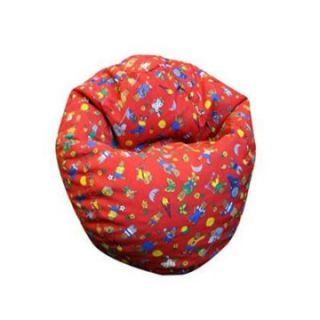 Elite Small Red Teddy Bear Bean Bag Chair   Bean Bags