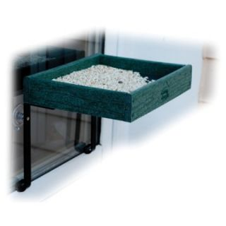 Going Green Recycled Plastic Window Bird Feeder   Bird Feeders