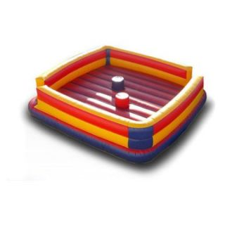 EZ Inflatables Gladiator Joust Bounce House   Commercial Inflatables