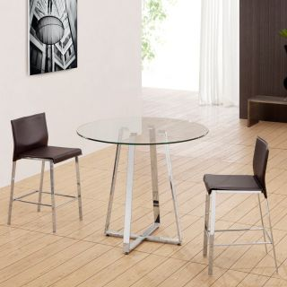 Zuo Modern Boxter 3 pc. Pub Table Set   Pub Tables
