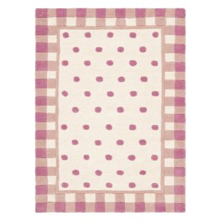 Safavieh Novelty NOV411A Area Rug   Ivory/Pink   Area Rugs