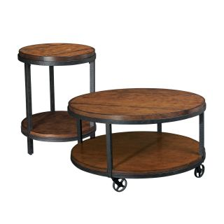 Hammary Baja 2 Piece Round Coffee Table Set   Coffee Table Sets