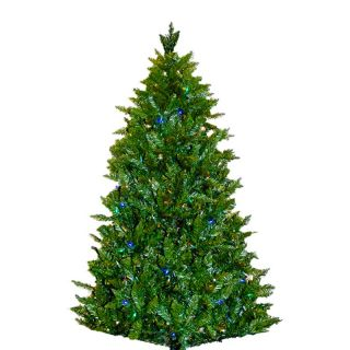 Kurt Adler 7 ft. Pine Pre Lit Multi Colored LED Christmas Tree   Artificial Christmas Trees
