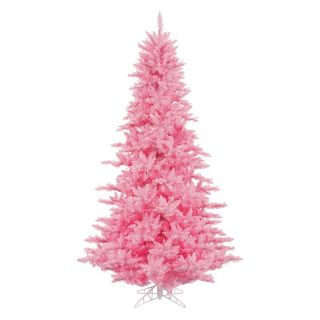Vickerman Pink Fir Pre lit Christmas Tree   Christmas Trees
