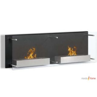 Moda Flame Faro Wall Mount Fireplace   Gel Fireplaces