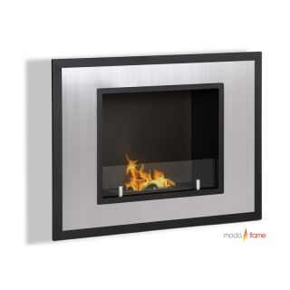 Moda Flame Rio Wall Mount Fireplace   Gel Fireplaces