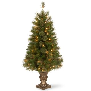 4 ft. Atlanta Spruce Pre Lit Christmas Tree   Clear Lights   Christmas Trees