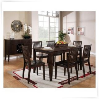 Steve Silver 5 Piece Candice Two Tone Dining Table Set   Dining Table Sets
