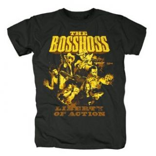 THE BOSSHOSS   Liberty of Action   Gang   T Shirt Gr.XXL Bekleidung